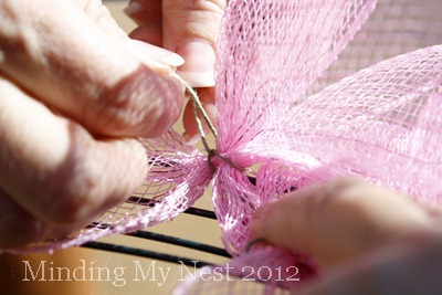 52 Weeks of Pinspiration {Week 12}–Spring Deco Mesh Wreath