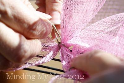 52 Weeks of Pinspiration {Week 12}–Spring Deco Mesh Wreath