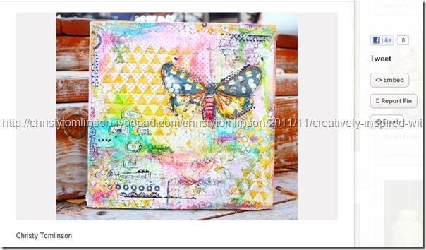 christytomlinson butterfly