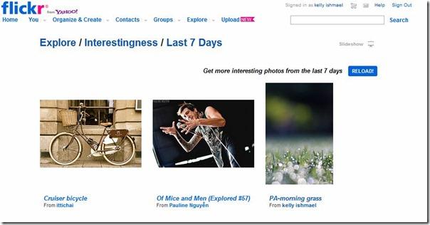 flicker explore 07292012