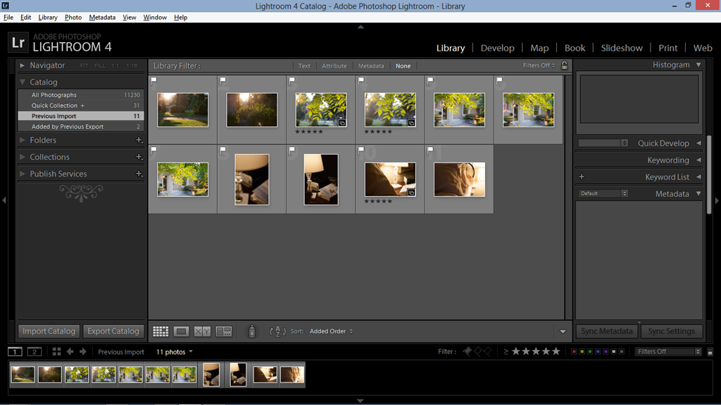 my lightroom workflow part 2 – organizing my photos in collections