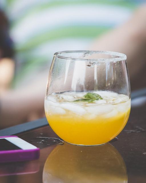 celebrating summer ~ mango gin cooler