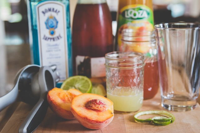celebrating summer ~ summer peach frizzante