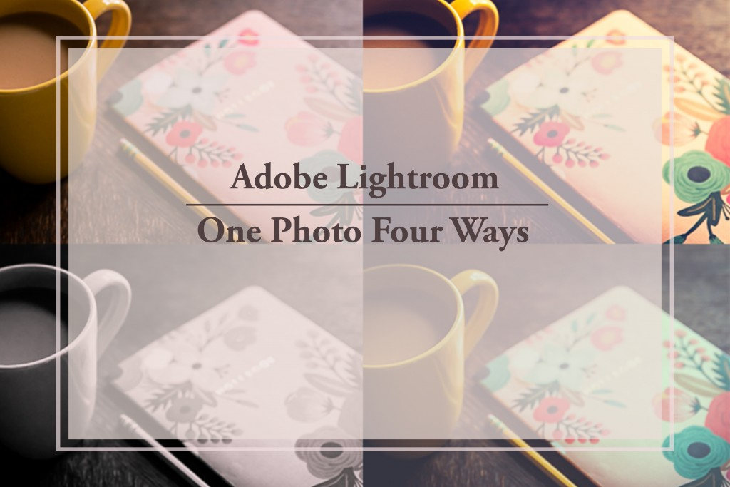 adobe lightroom, one photo four ways - an online lightroom class