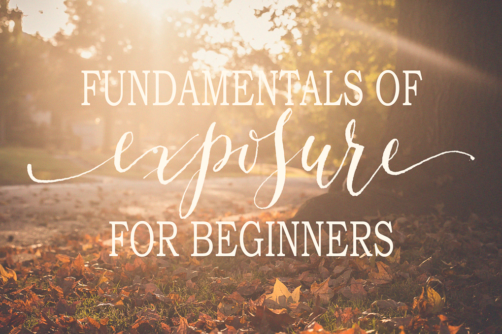 fundamentals of exposure for beginners - an on-line photography class