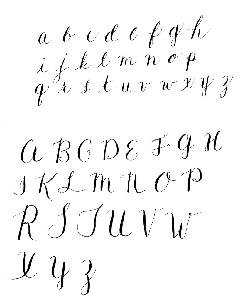 Resources For Getting Started In Modern Calligraphy