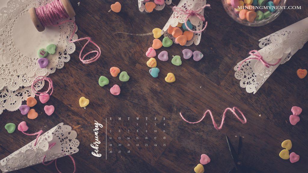 february 2017 desktop calendar