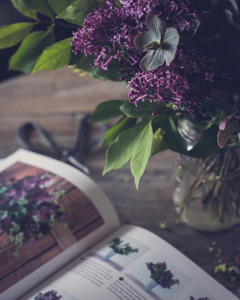a spring arrangement inspired by floret farm