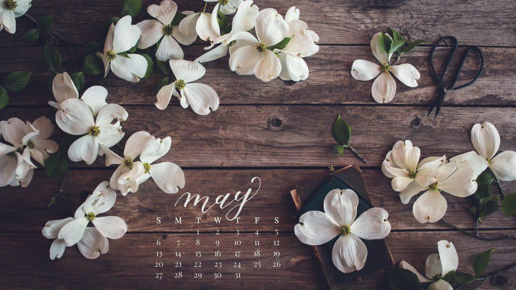 May 2018 Desktop Calendar
