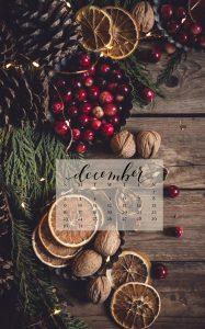 December 2018 Device Calendar