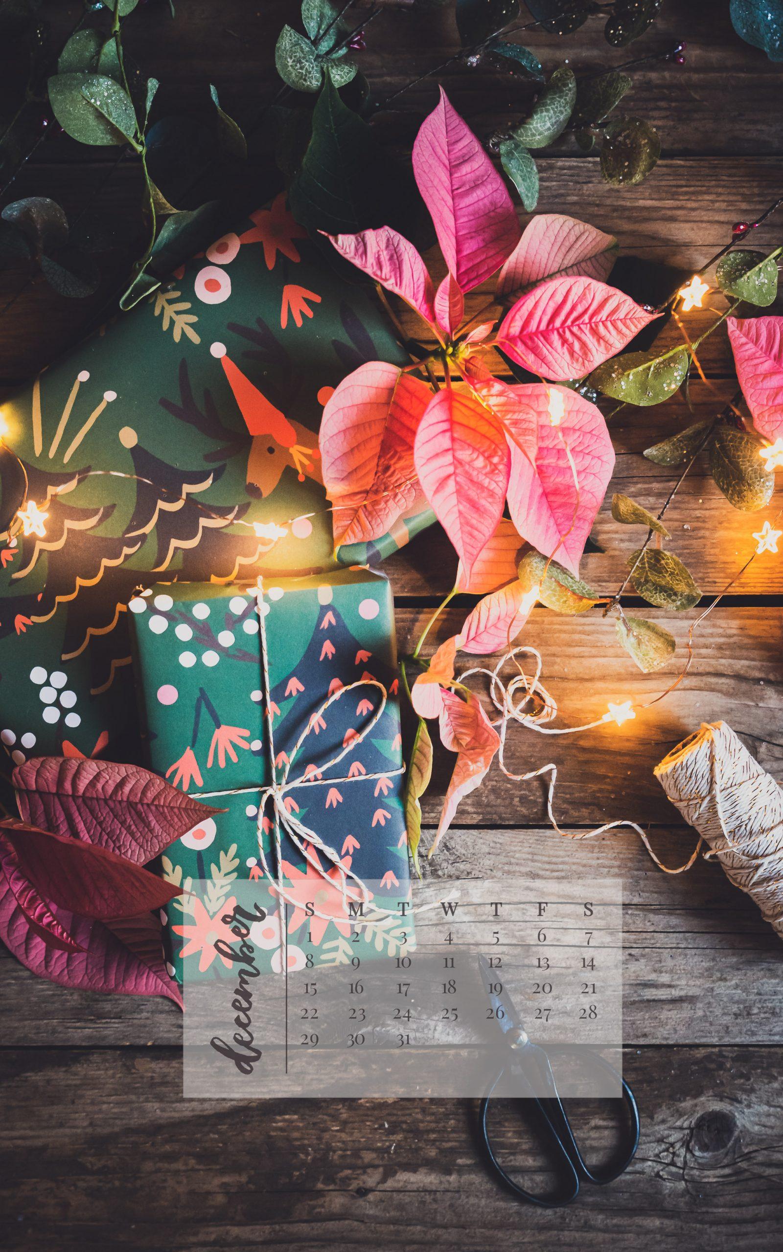 December 2019 Device Calendar